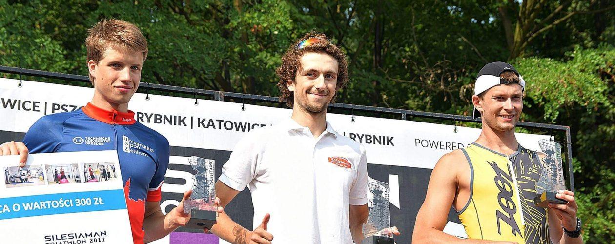 Pierwsze miejsce w Silesiaman, Triathlon Katowice