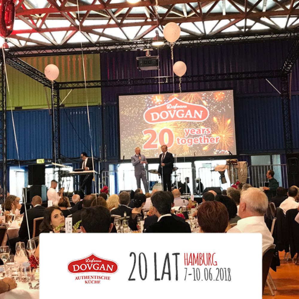 20 lat firmy DOVGAN
