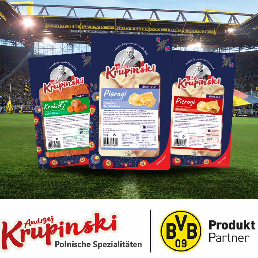 U Jędrusia product partner for Borussia Dortmund