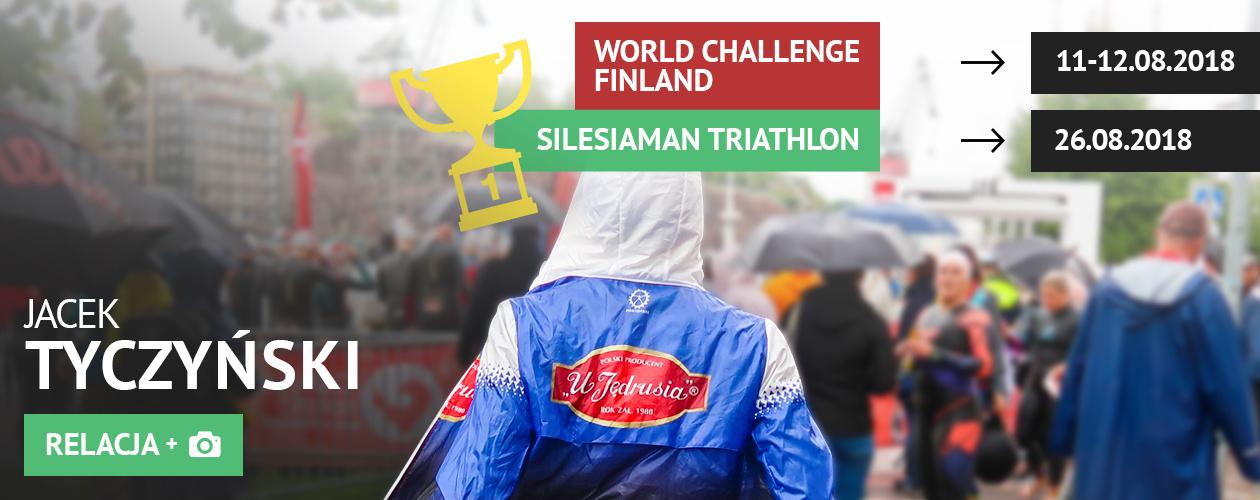 Challenge Finland i Silesiaman Triathlon w Katowicach