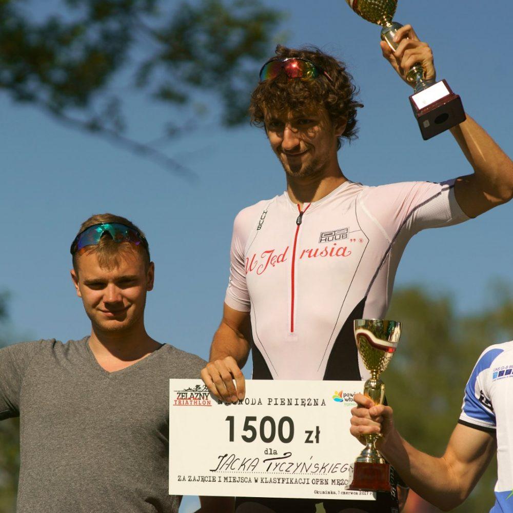 Pierwsze miejsce Jacka Tyczyńskiego w Żelazny Bieg/ Żelazny Triathlon
