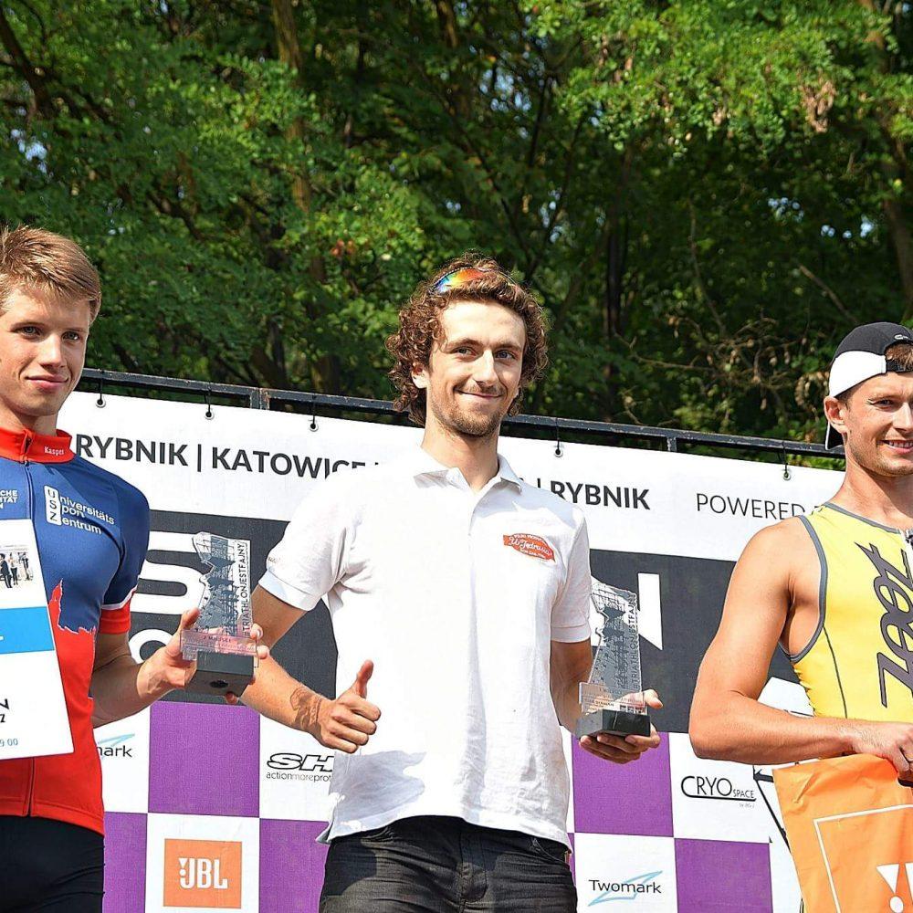 Pierwsze miejsce wSilesiaman, Triathlon Katowice