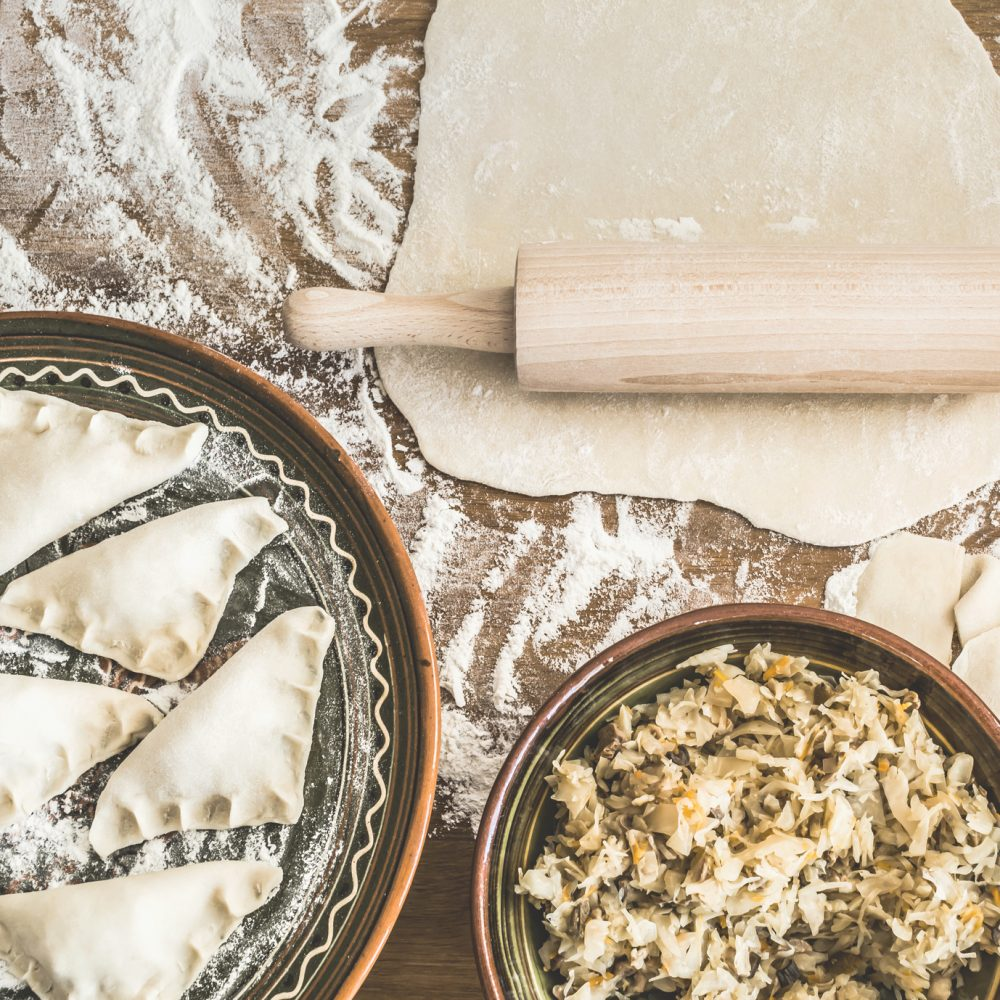 Idealne ciasto napierogi
