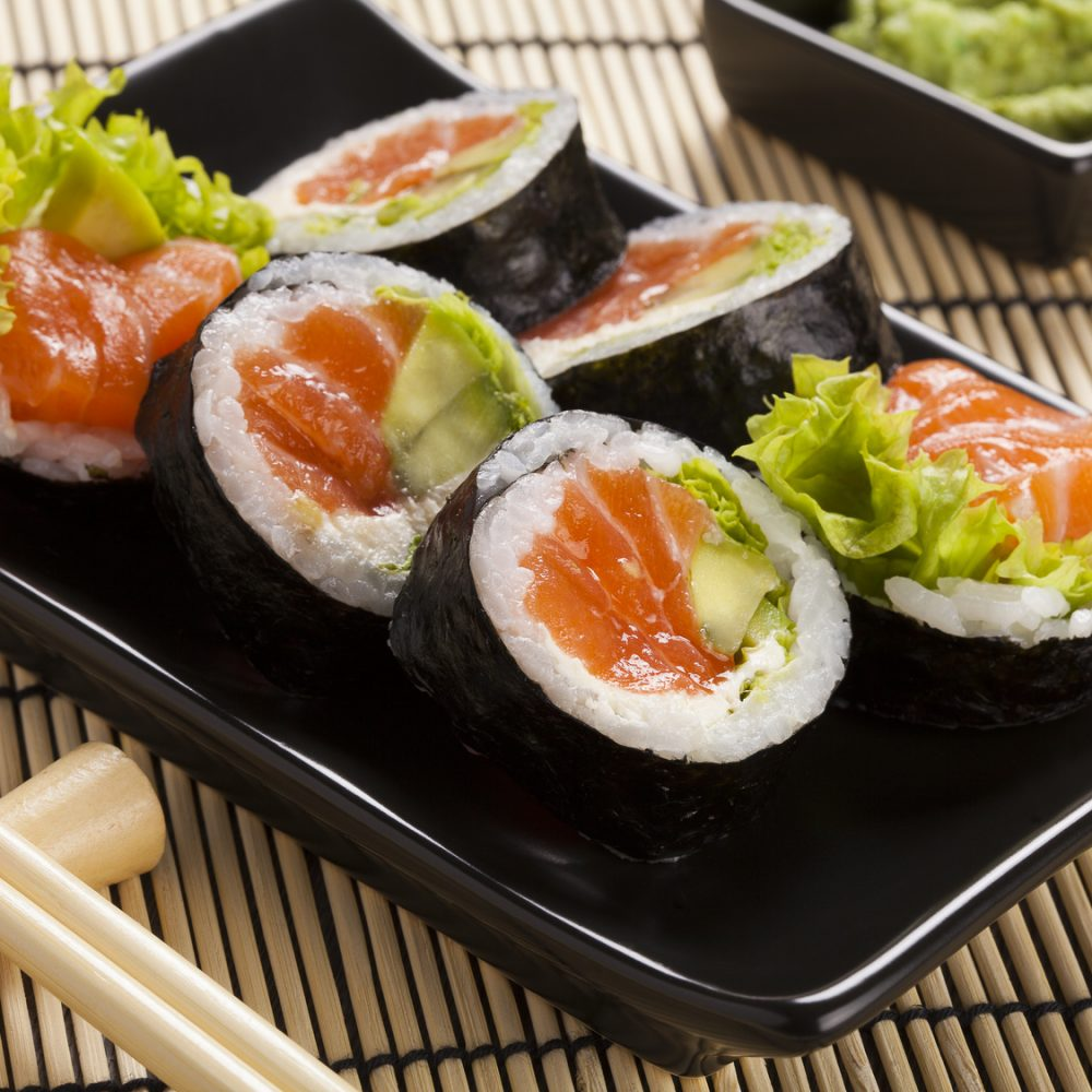 Sposób nadobre itanie, domowe sushi