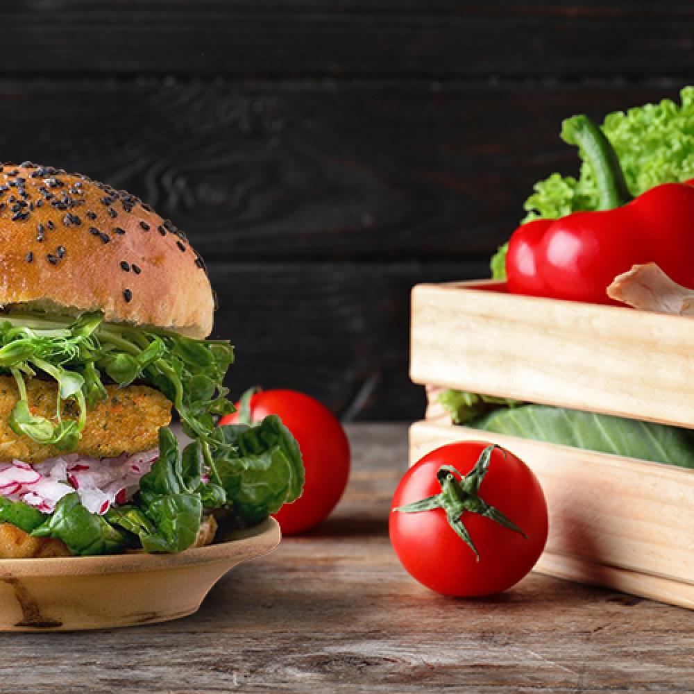 Burgery warzywne – niesamym mięsem człowiek żyje
