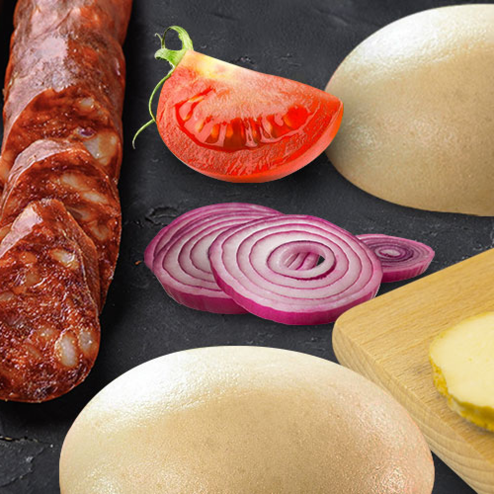 Pampucho-burger – czyli burger inaczej