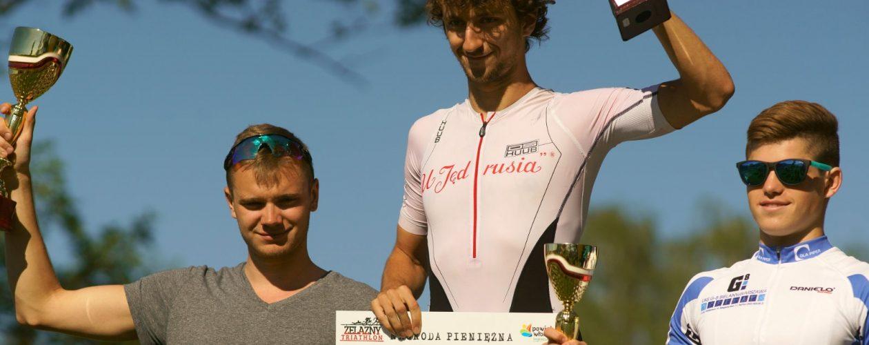Pierwsze miejsce Jacka Tyczyńskiego wŻelazny Bieg/ Żelazny Triathlon