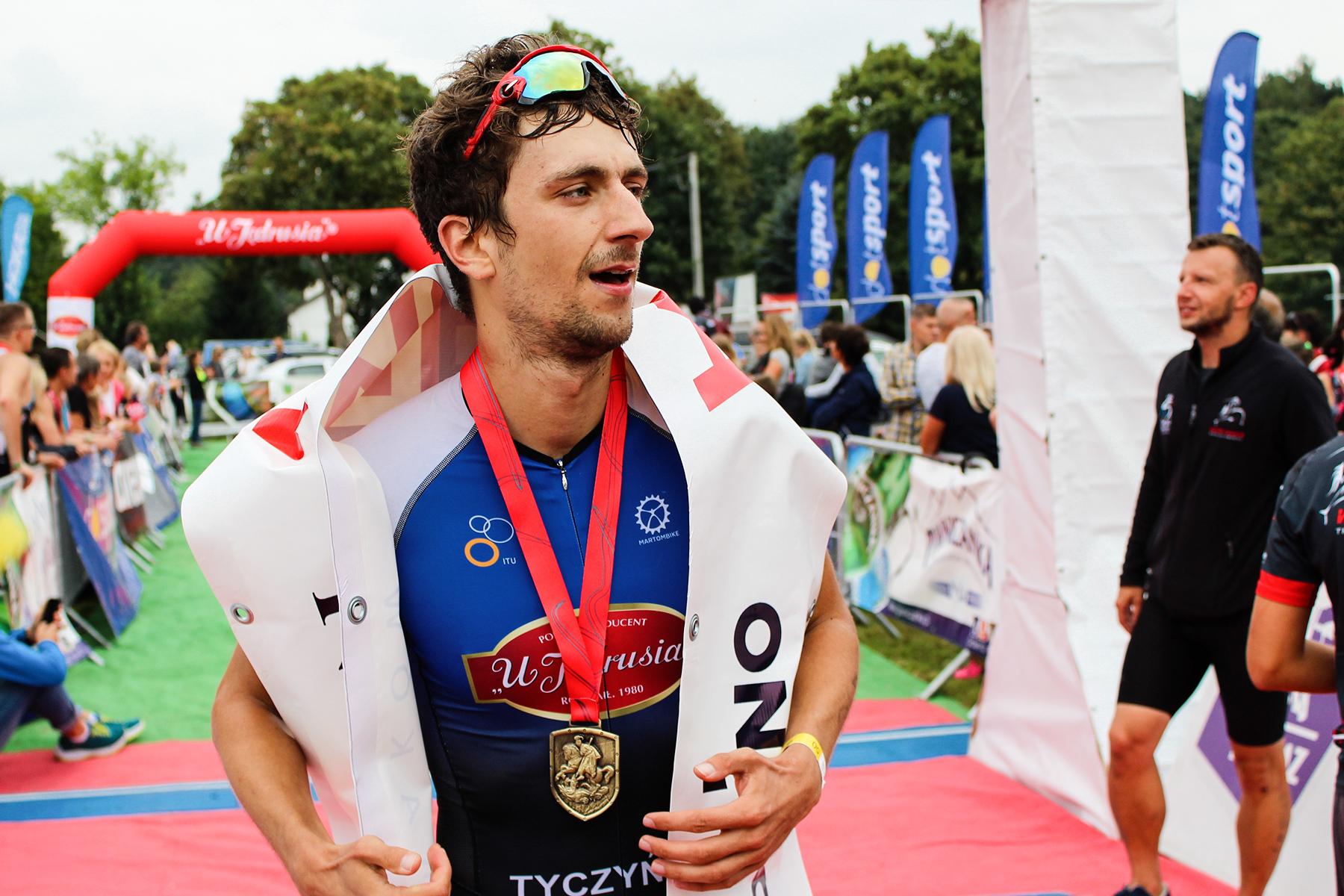 Jacek Tyczyński - Pierwsze miejsce, Iron Dragon Trathlon