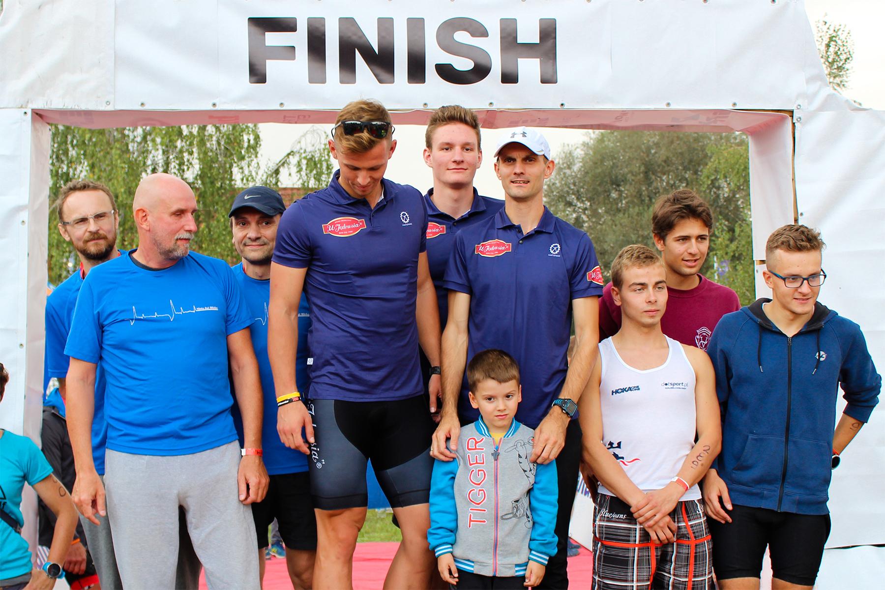 Pierwsze miejsce - UJędrusia Triteam