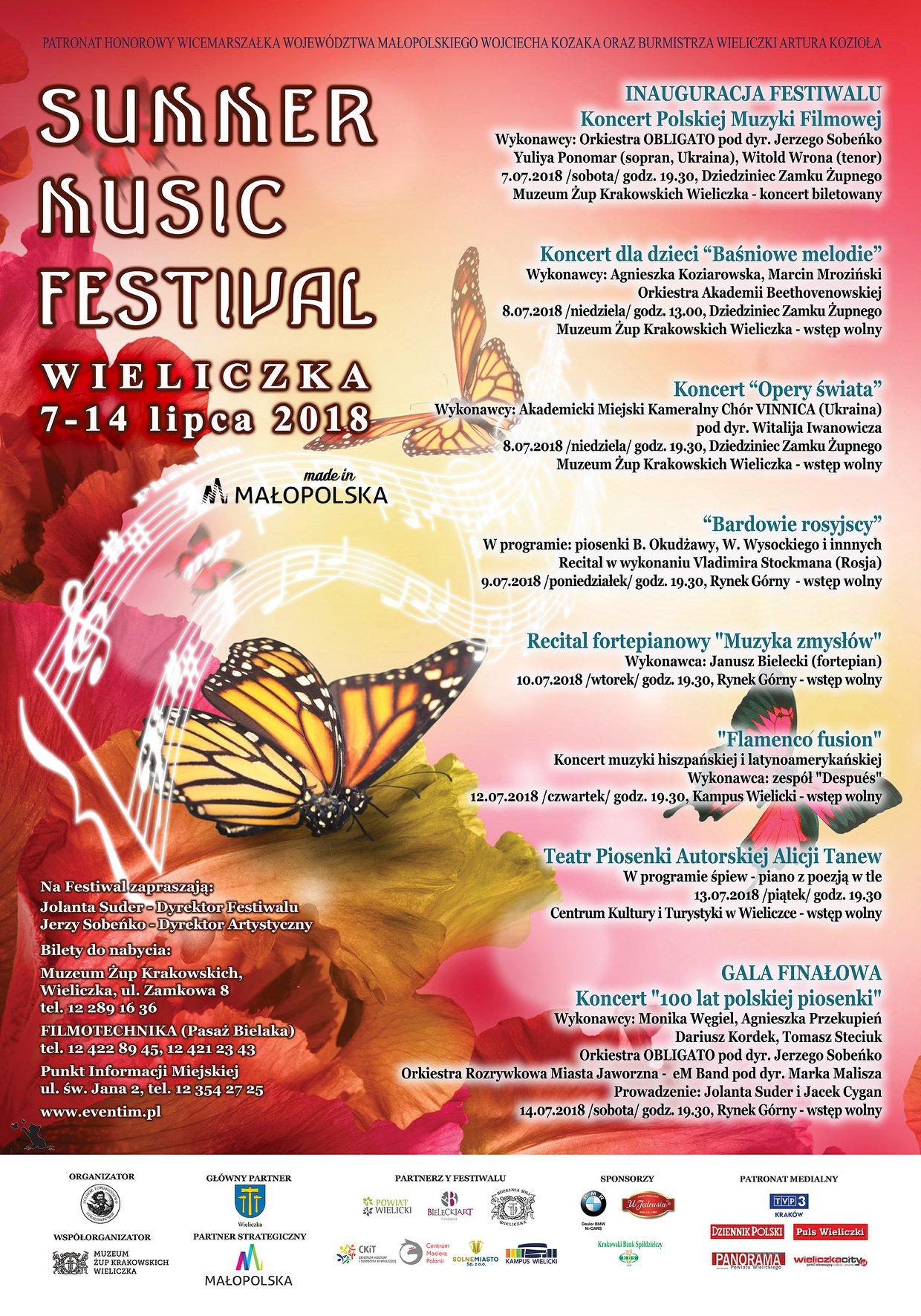 Plakat - Summer Music Festival 2018